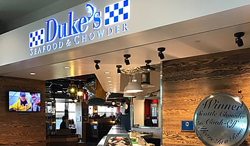 Duke's Seafood Restaurant in Bellevue