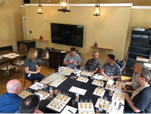 Duke Evaluating Bourbon Brands