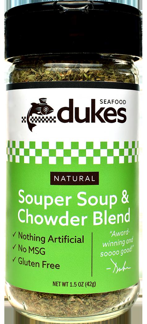 Duke's Seafood Souper Soup & Chowder Blend Spice